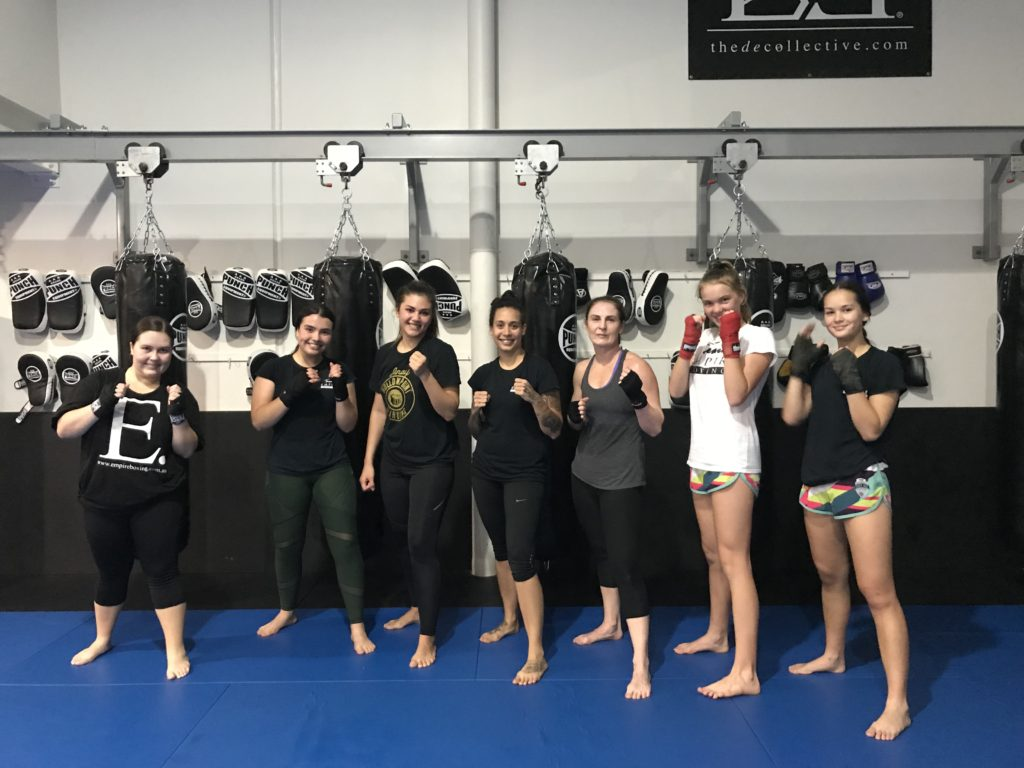 female only boxing lessons