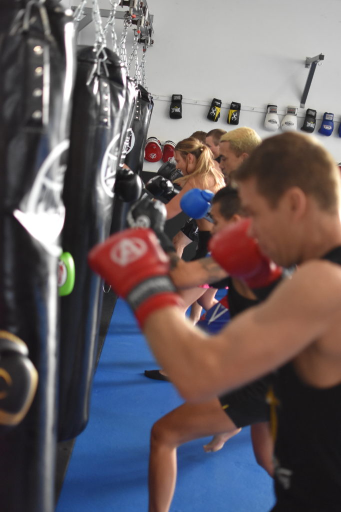 boxing group lessons